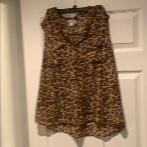 Leopard shirt from Old Navy